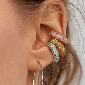 ✨Elsa Style Crystal Ear Cuff Set!🌸